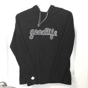 Goodlife Fitness Hooded Athletic Top